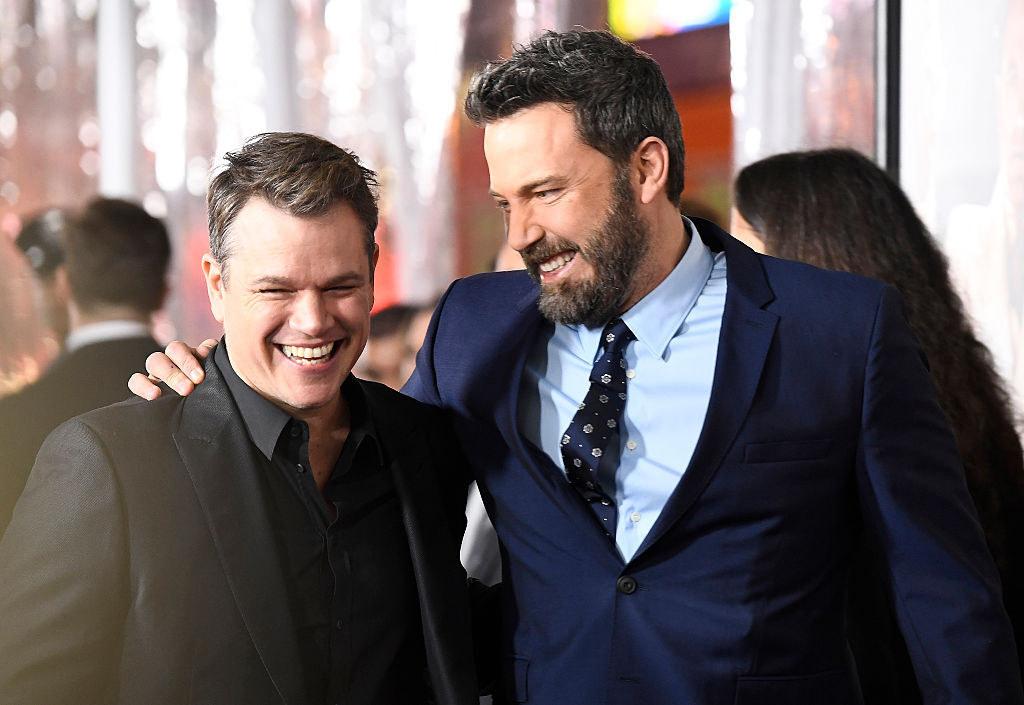 Matt Damon and Ben Affleck in 2017