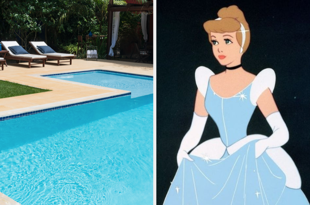 Pool and Cinderella
