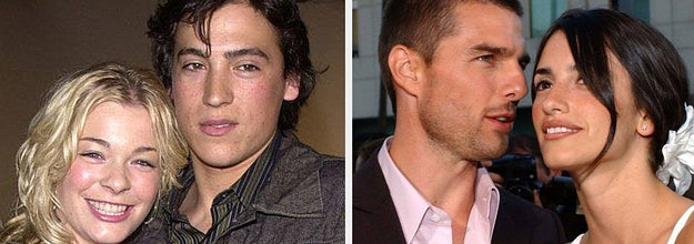 andrew keegan and leann rimes and tom cruise and penelope cruz