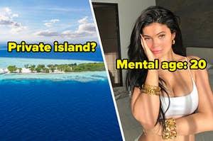 private island? mental age 20