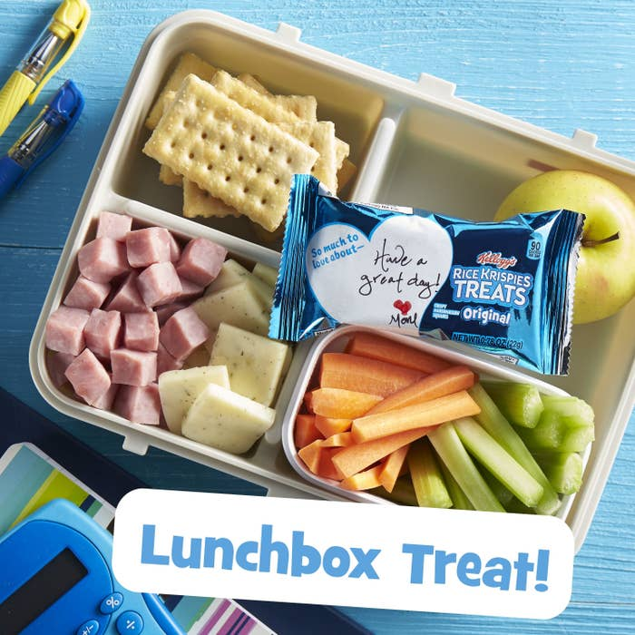 a treat in a lunchbox
