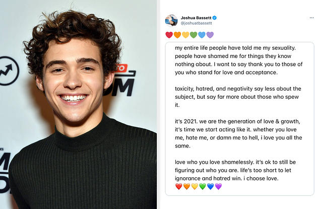 Joshua Bassett Confirmed Hes Figuring Out His Sexuality After His Harry Styles Comments