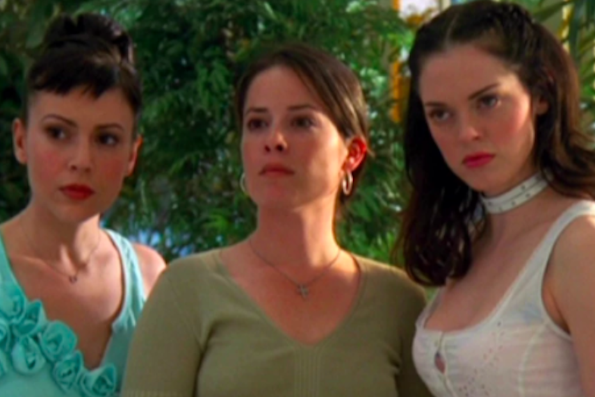 """Piper, Phoebe, and Paige in """"Charmed"""""""