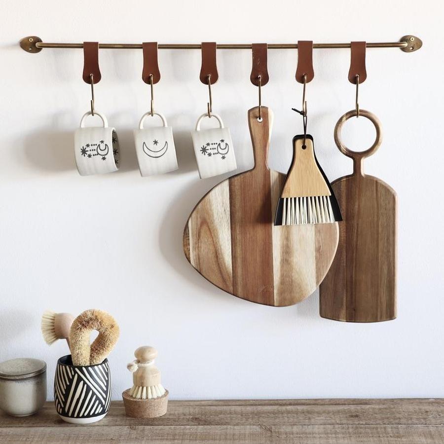 the brass hanging rack