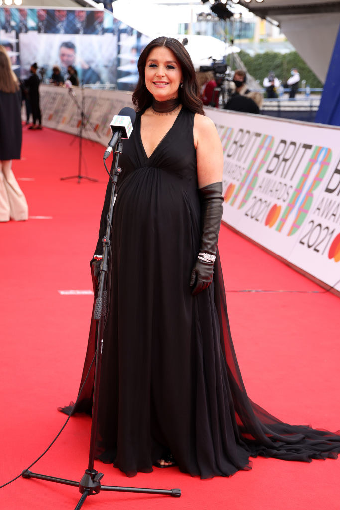 Jessie Ware arrives at The BRIT Awards 2021