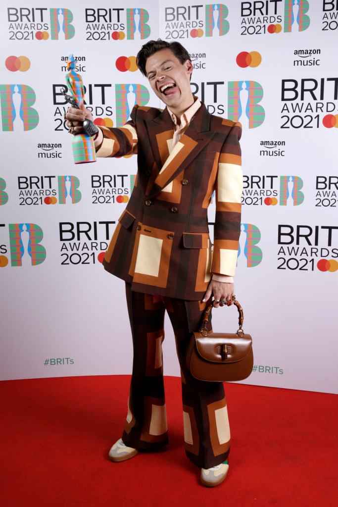 "Harry Styles wins the Mastercard British Single award for ""Watermelon Sugar"""