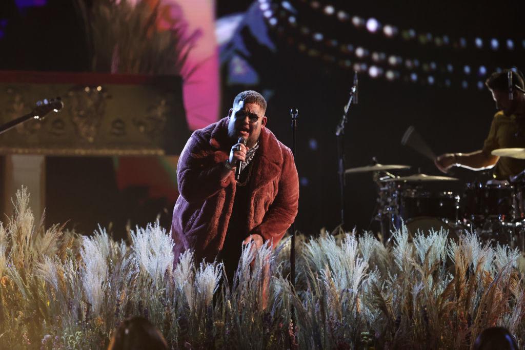 Rag'n'Bone Man performs at The BRIT Awards 2021