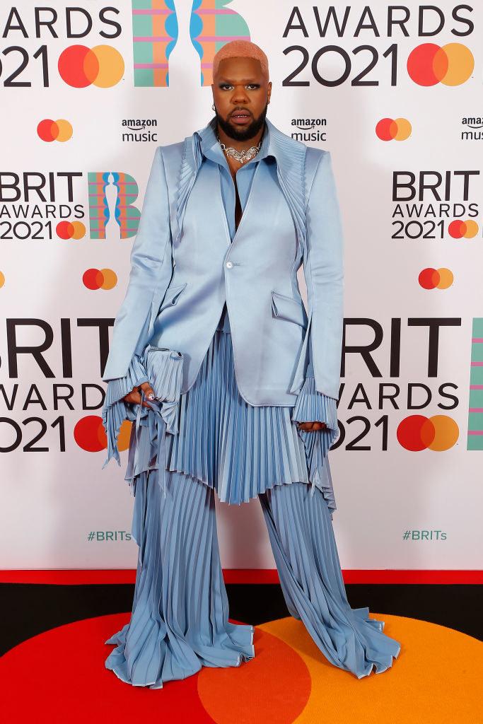 MNEK attends The BRIT Awards 2021
