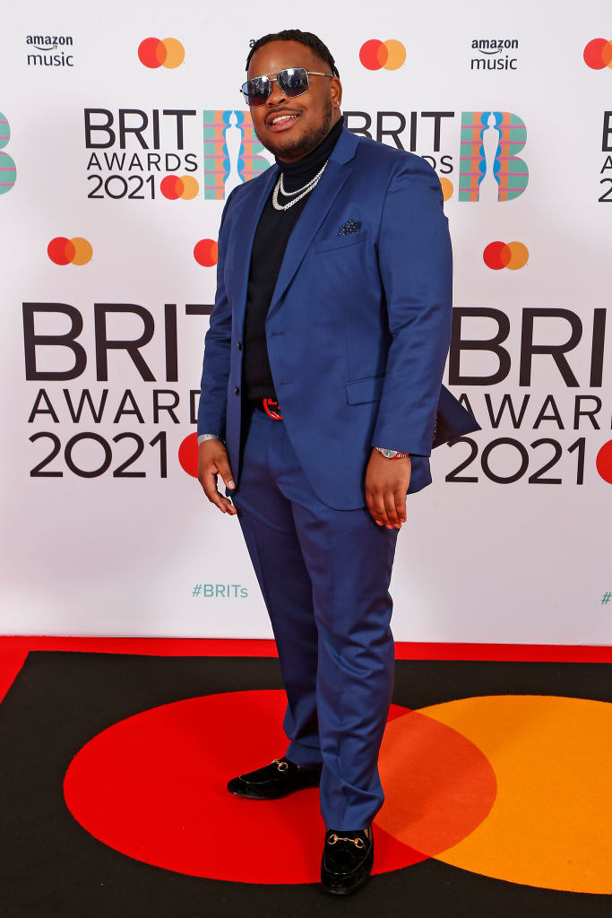 S1mba attends The BRIT Awards 2021