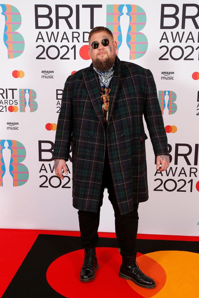 Rag'n'Bone Man attends The BRIT Awards 2021