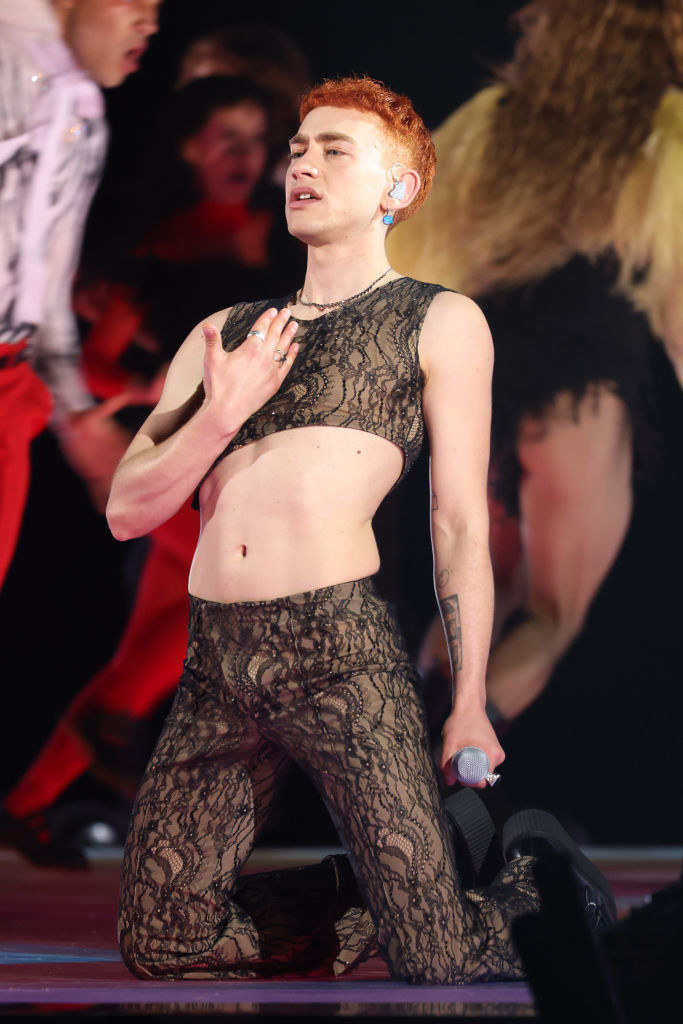 Olly Alexander aka Years & Years performs at The BRIT Awards 2021