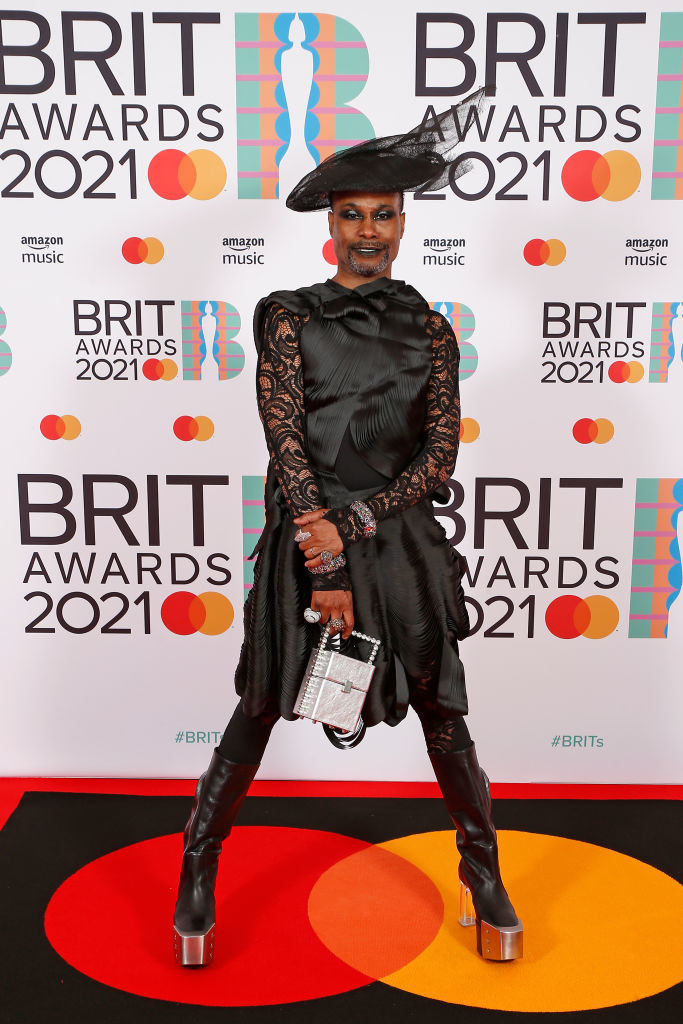 Billy Porter attends The BRIT Awards 2021