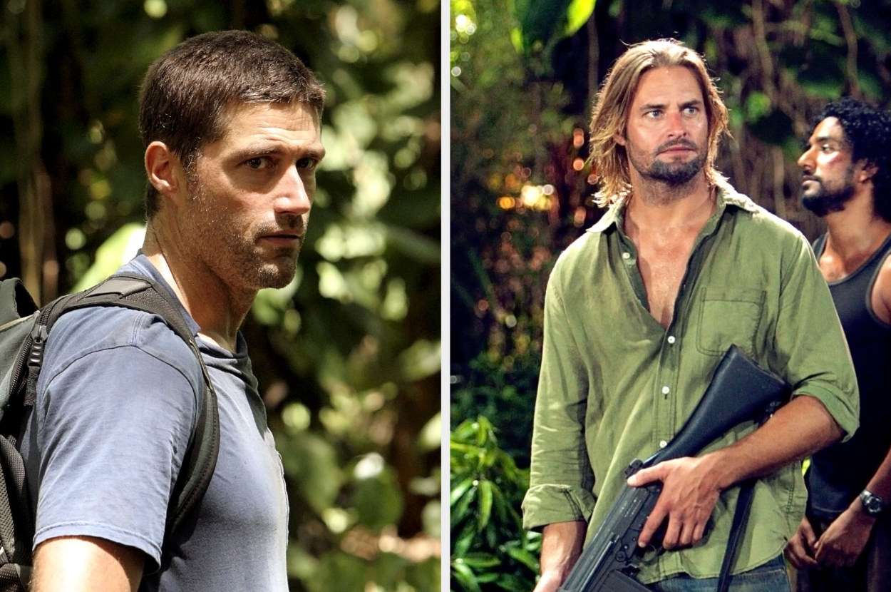 """Jack and Sawyer from """"Lost"""""""