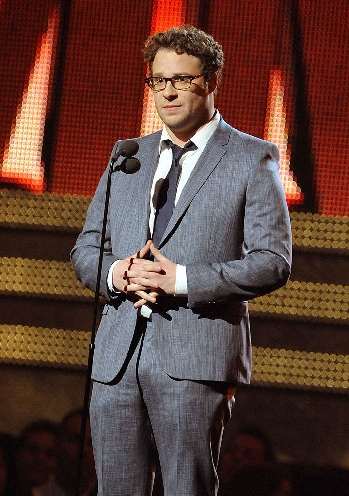 Seth Rogen onstage during The 53rd Annual GRAMMY Awards