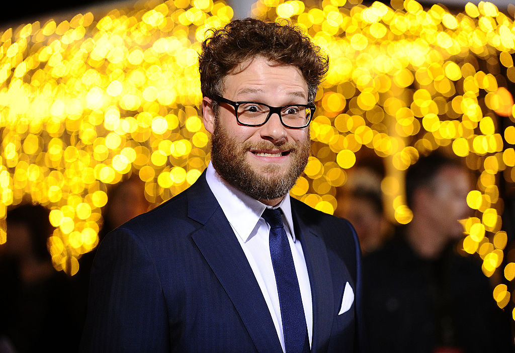 """Seth Rogen attends the premiere of """"The Night Before"""""""