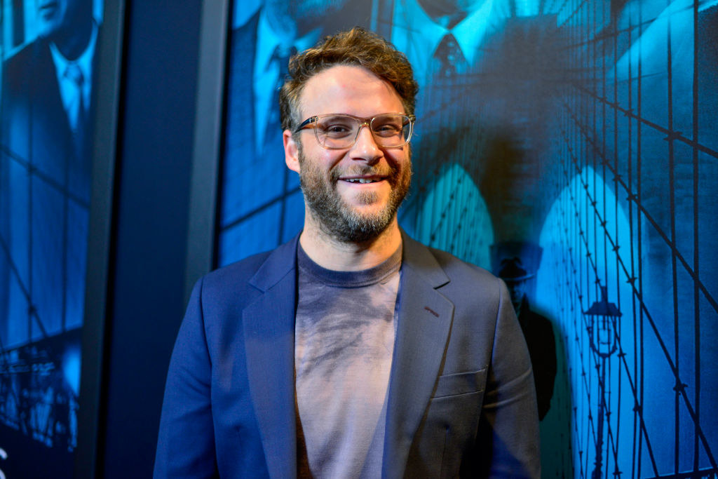 """Seth Rogen arrives at the premiere of Warner Bros. Pictures' """"Motherless Brooklyn"""""""