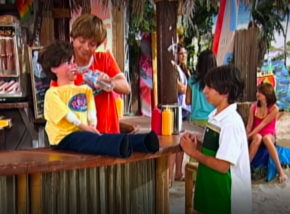 Rico was always hanging out at the surf shack