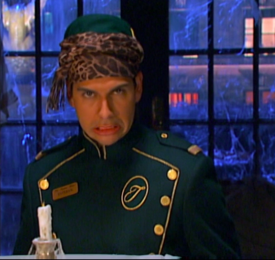 Esteban led the seancé