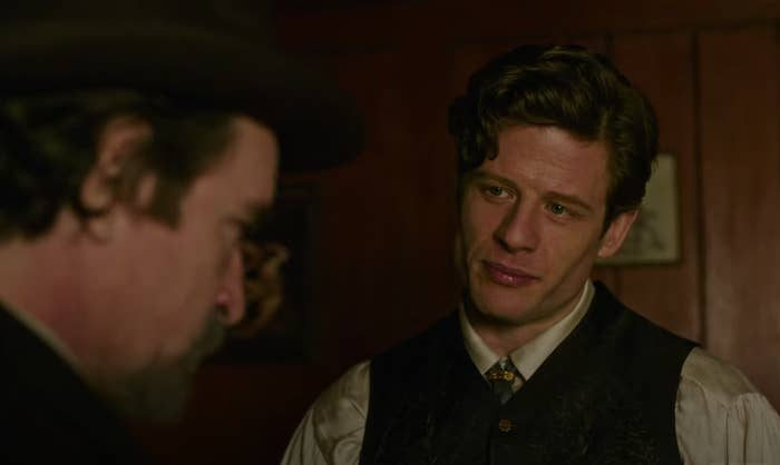 """James Norton as Hugo Swann in """"The Nevers"""""""