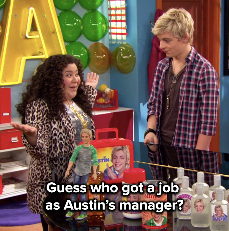 she was his manager, and Ally was his songwriter