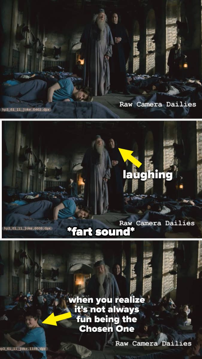 Daniel Radcliffe is pranked with a fart machine