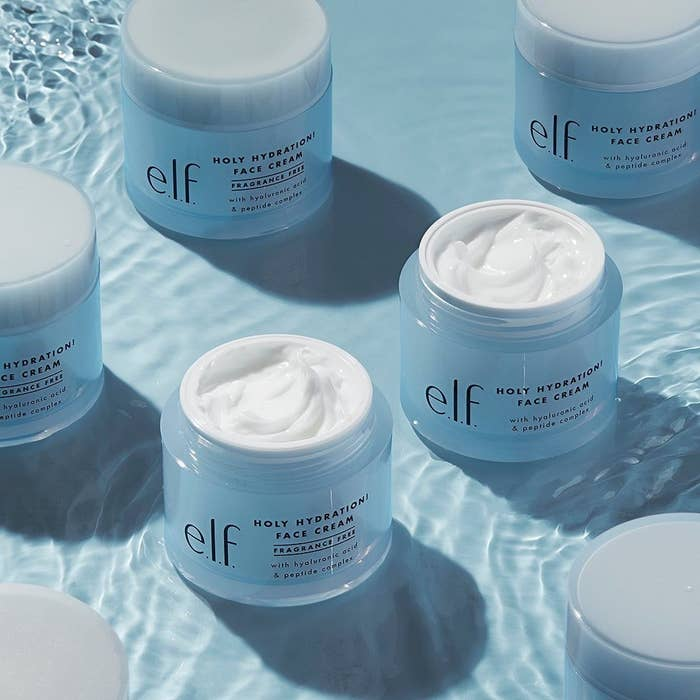 e.l.f. holy hydration face cream in water