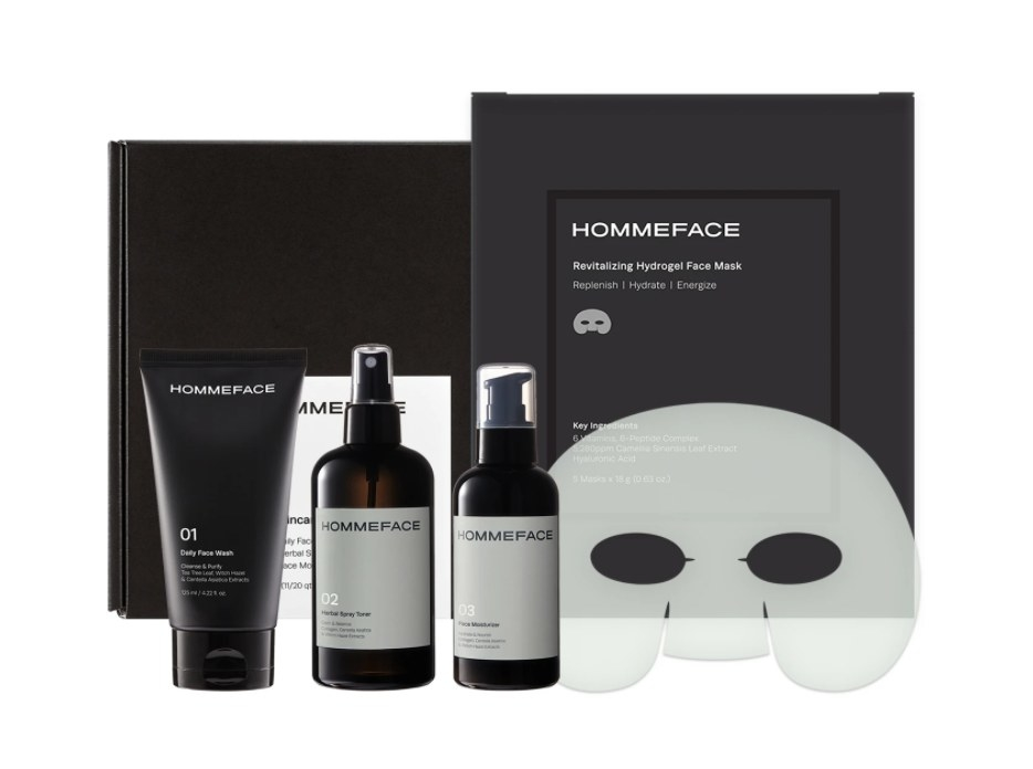 Skincare set.