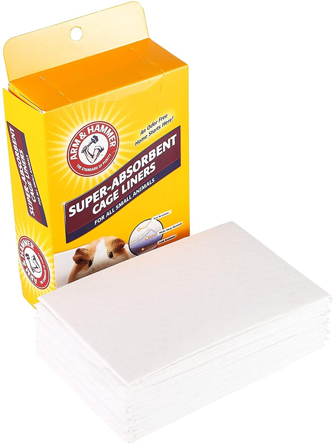 The Arm & Hammer cage liner