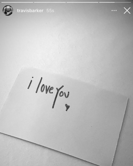 """a note that says """"i love you"""""""
