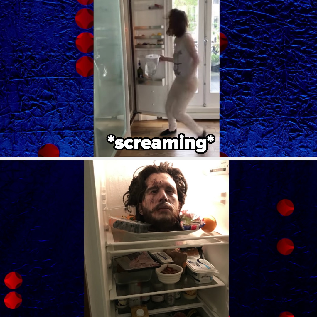 Jon snow's decapitated head in his wife's fridge