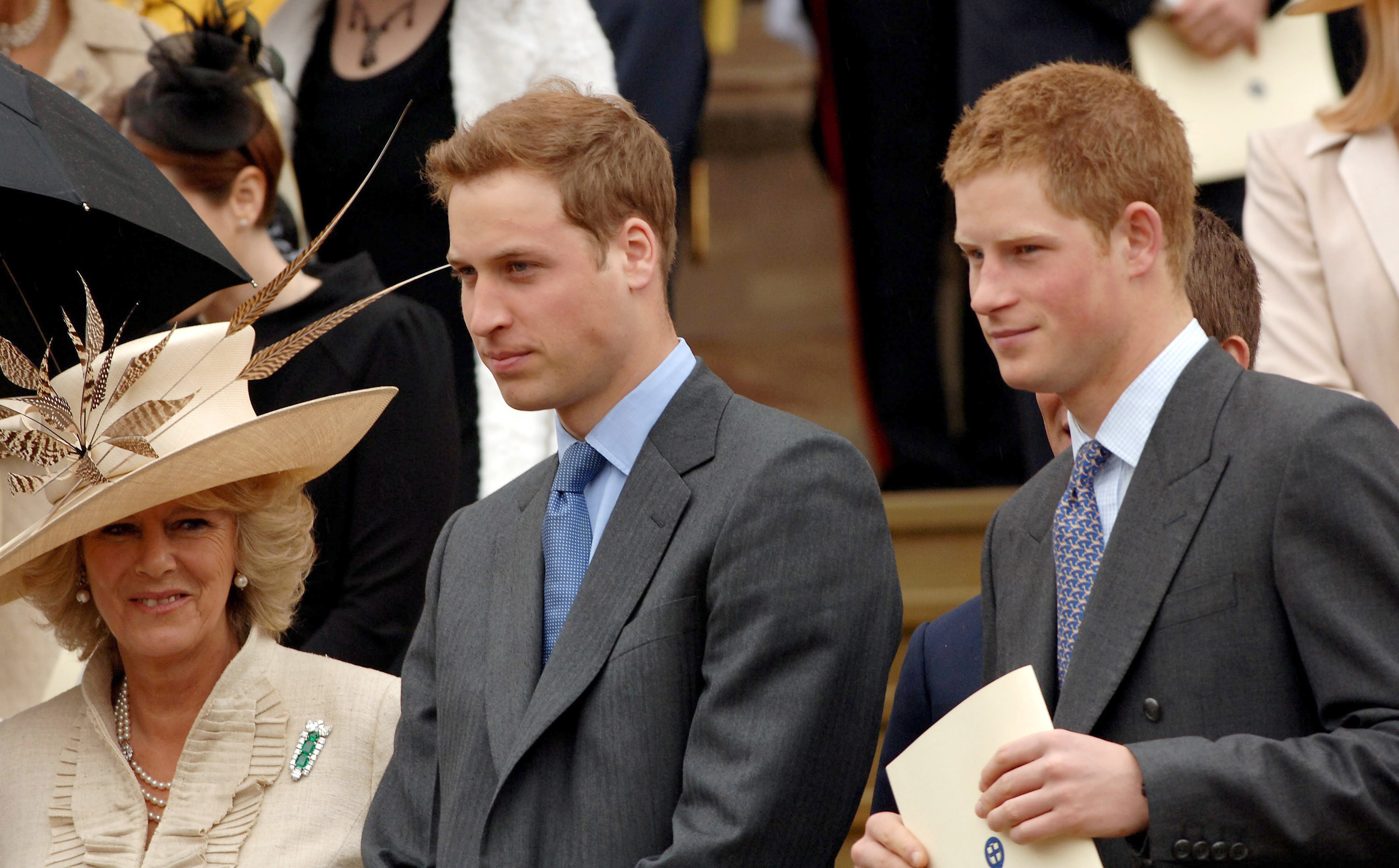 Harry with his brother, Prince William
