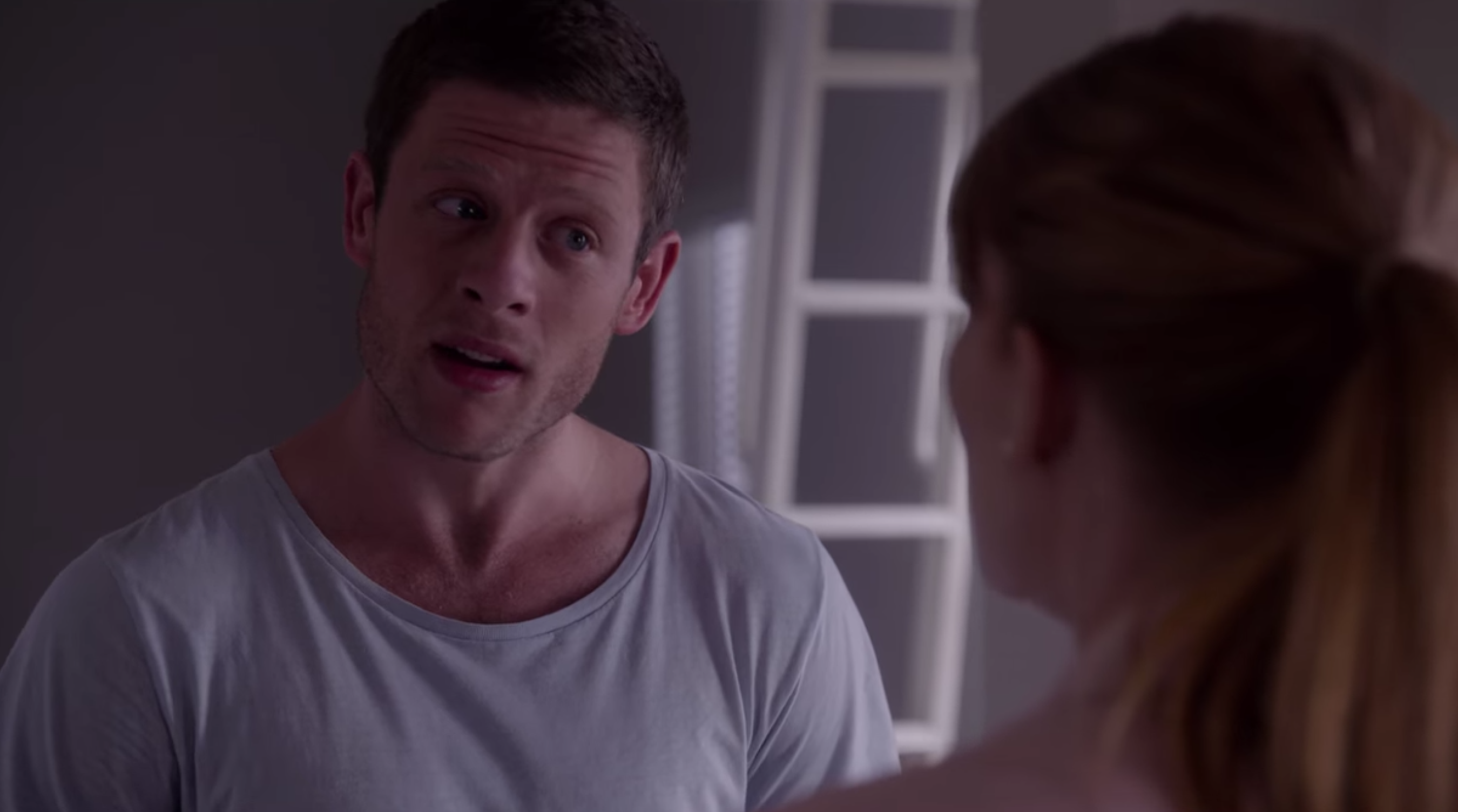 """James Norton as the protective brother, Ryan, in """"Black Mirror"""""""