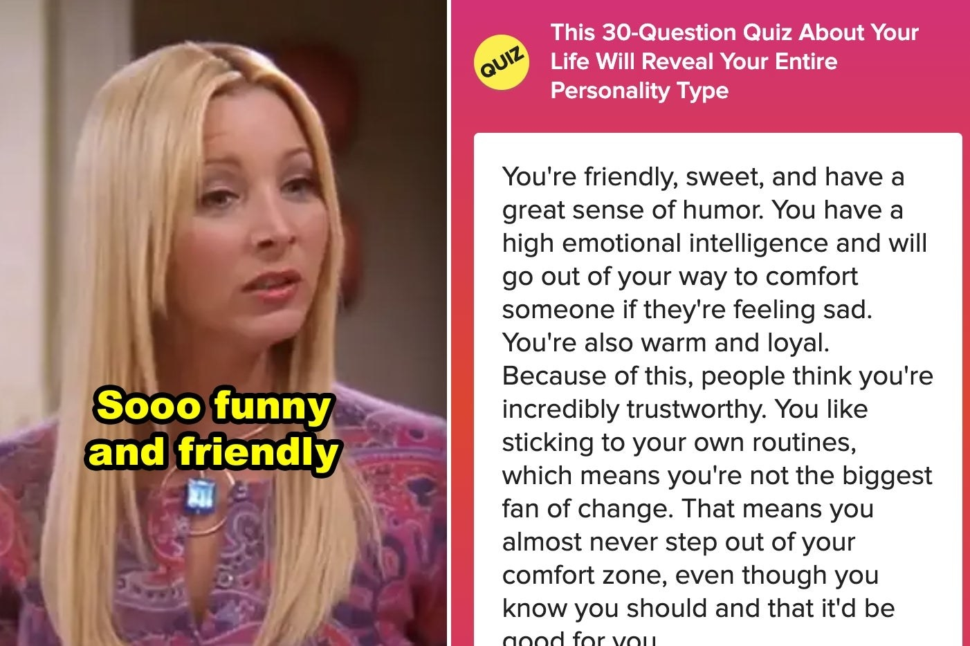 """Phoebe looking puzzled in """"Friends"""""""