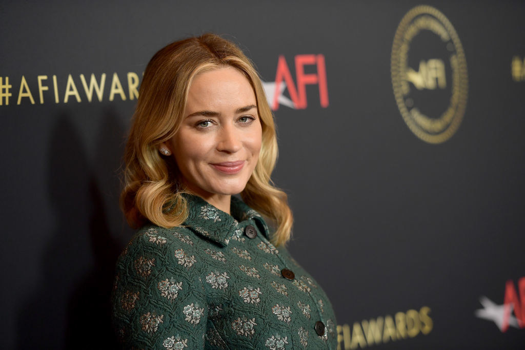 Emily Blunt attends the 19th Annual AFI Awards