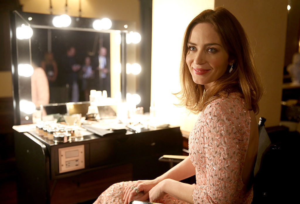 Emily Blunt attends the 2014 Hamilton Behind the Camera Awards