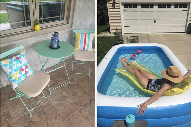 24 Pieces Of Outdoor Furniture That Reviewers Say Were So Easy To Set Up