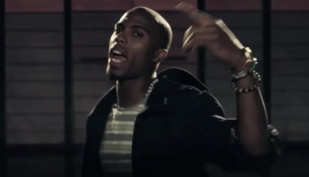B.o.B. rapping