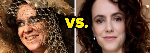 Amy Mason as Maladie on The Nevers and Amy Manson in real life