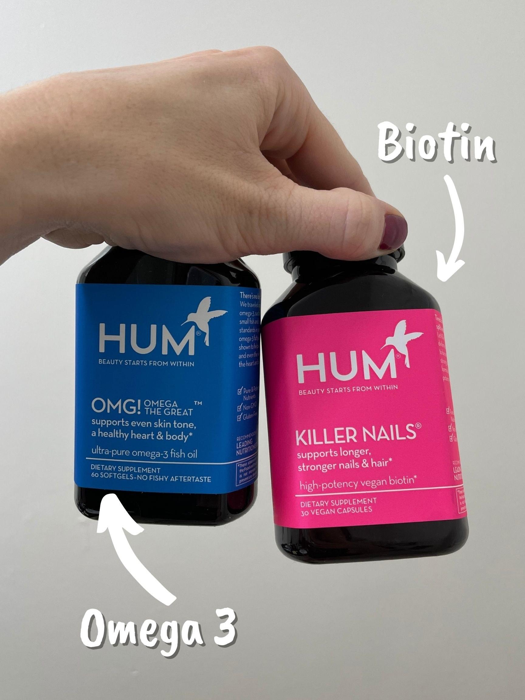 "Hum vitamins Omega 3 and ""Killer Nails"" vitamin"