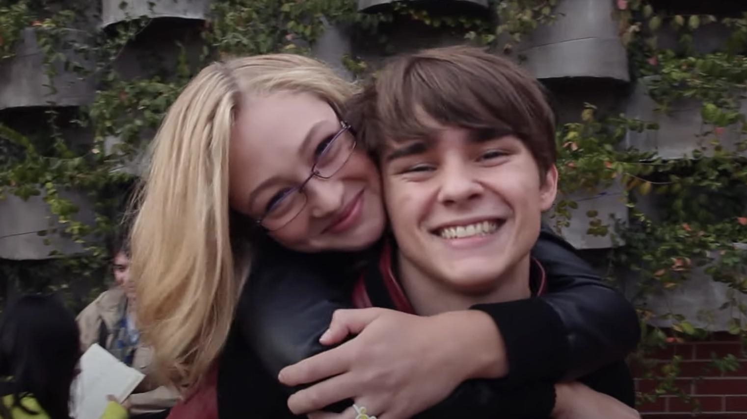 Maya and Cam before his death