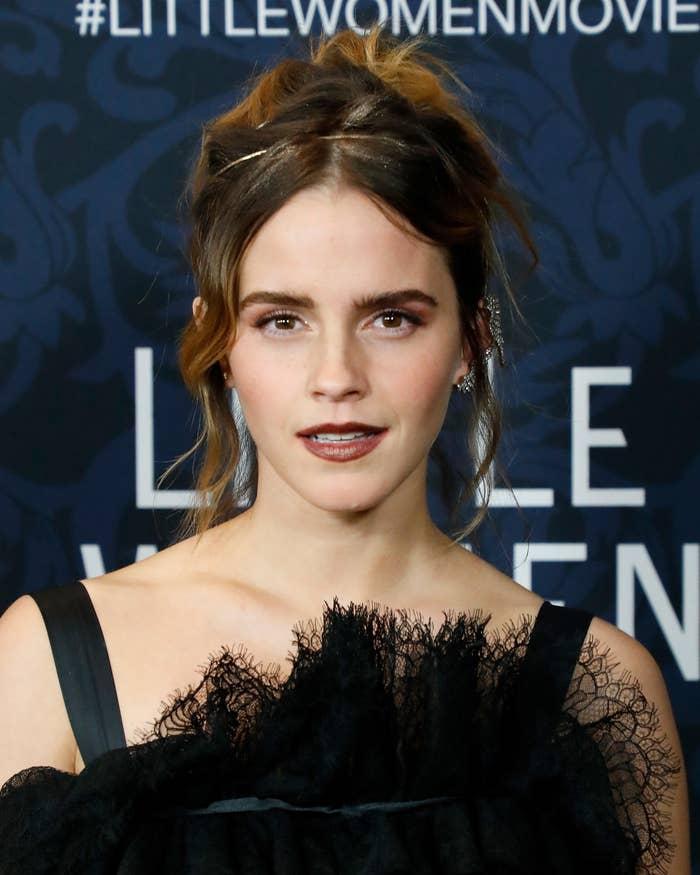 Emma Watson at the Little Women premiere in 2019