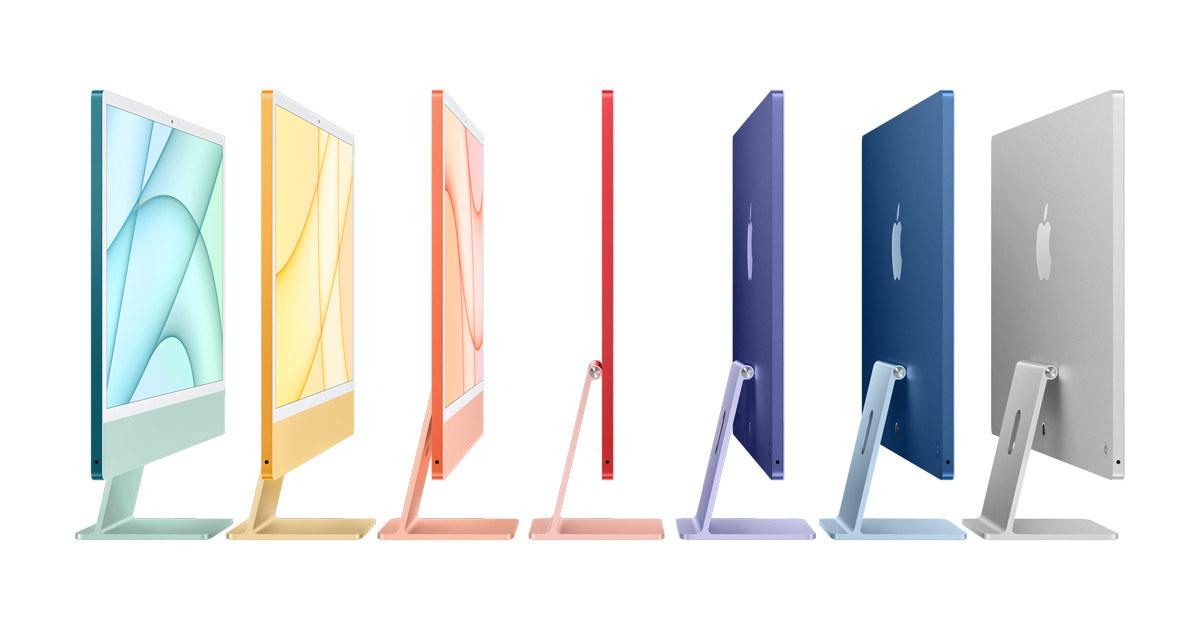 New iMac colors