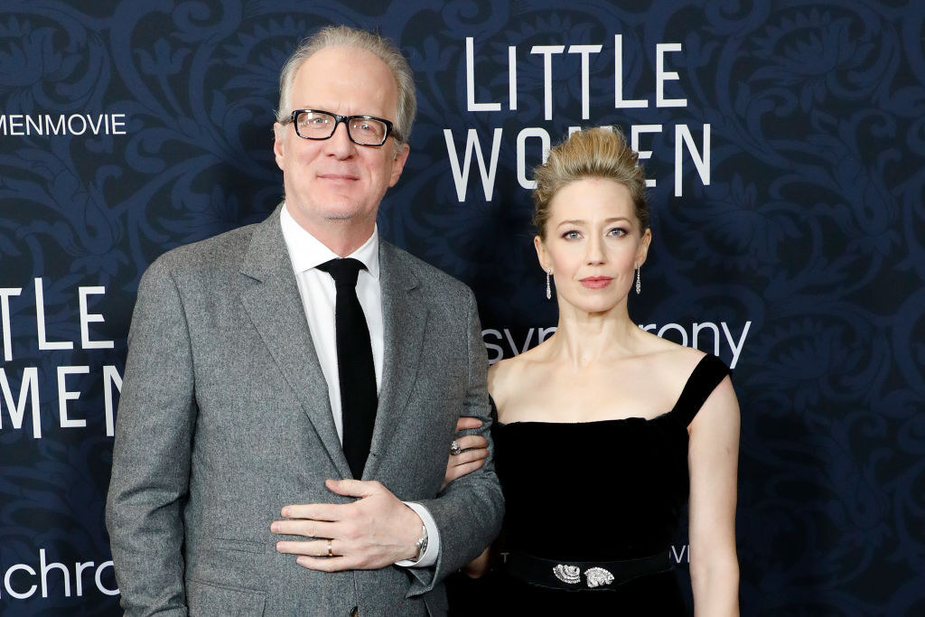 Tracy Letts and Carrie Coon at Little Women premiere