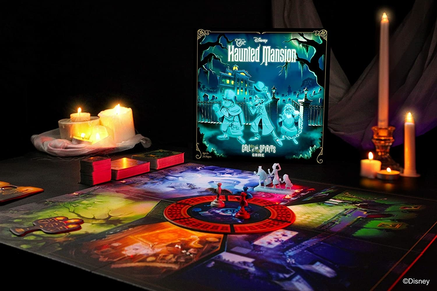 the haunted mansion board game