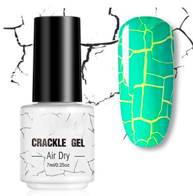 cracked nail polish that lets another color shine through