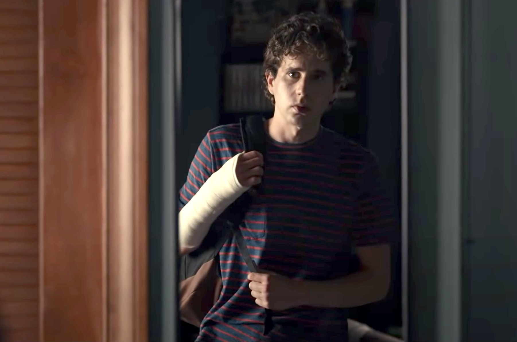 A screenshot of Ben in the movie