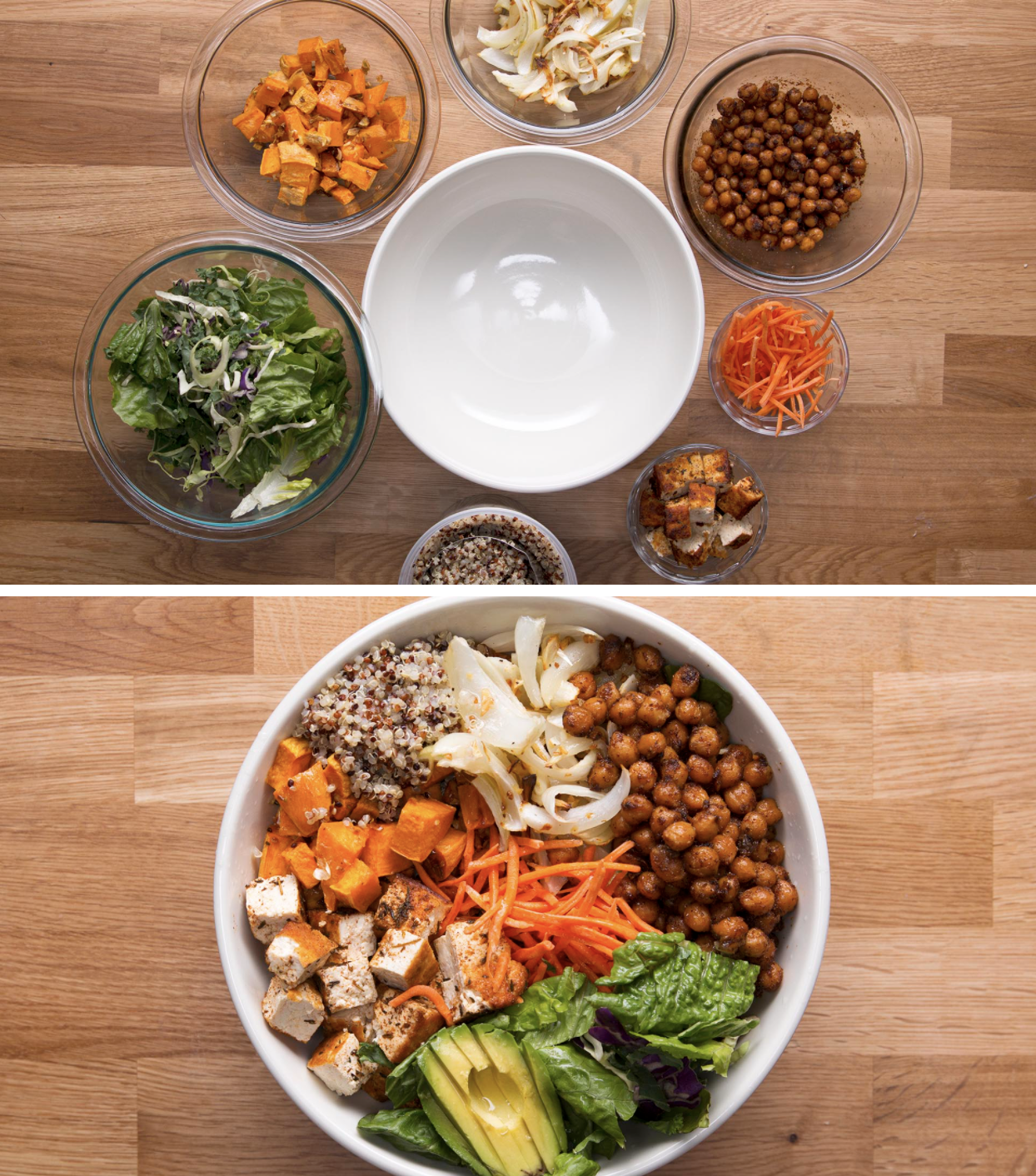 Protein-Packed Veggie Bowl