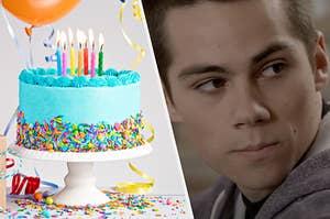 Cake and Stiles Stilinski