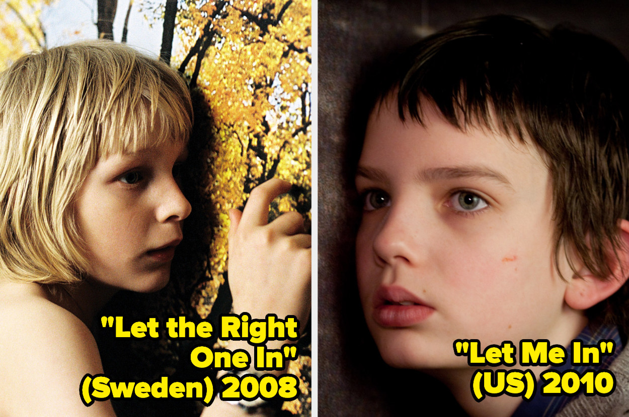 Kåre Hedebrant and Kodi Smit-McPhee holding their ears to a wall