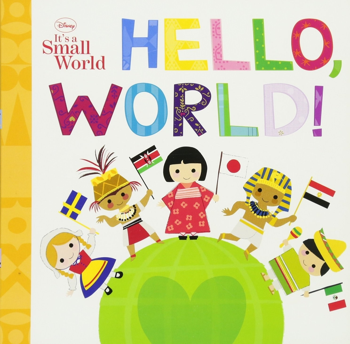 the cover of the it's a small world board book